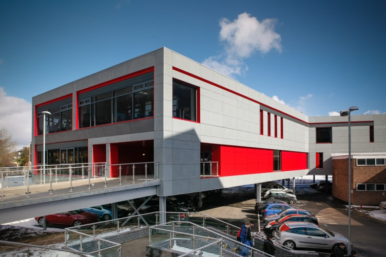 West Notts College Midlands Architectural Photographer